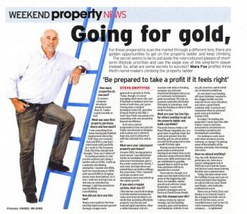 Going for Gold article