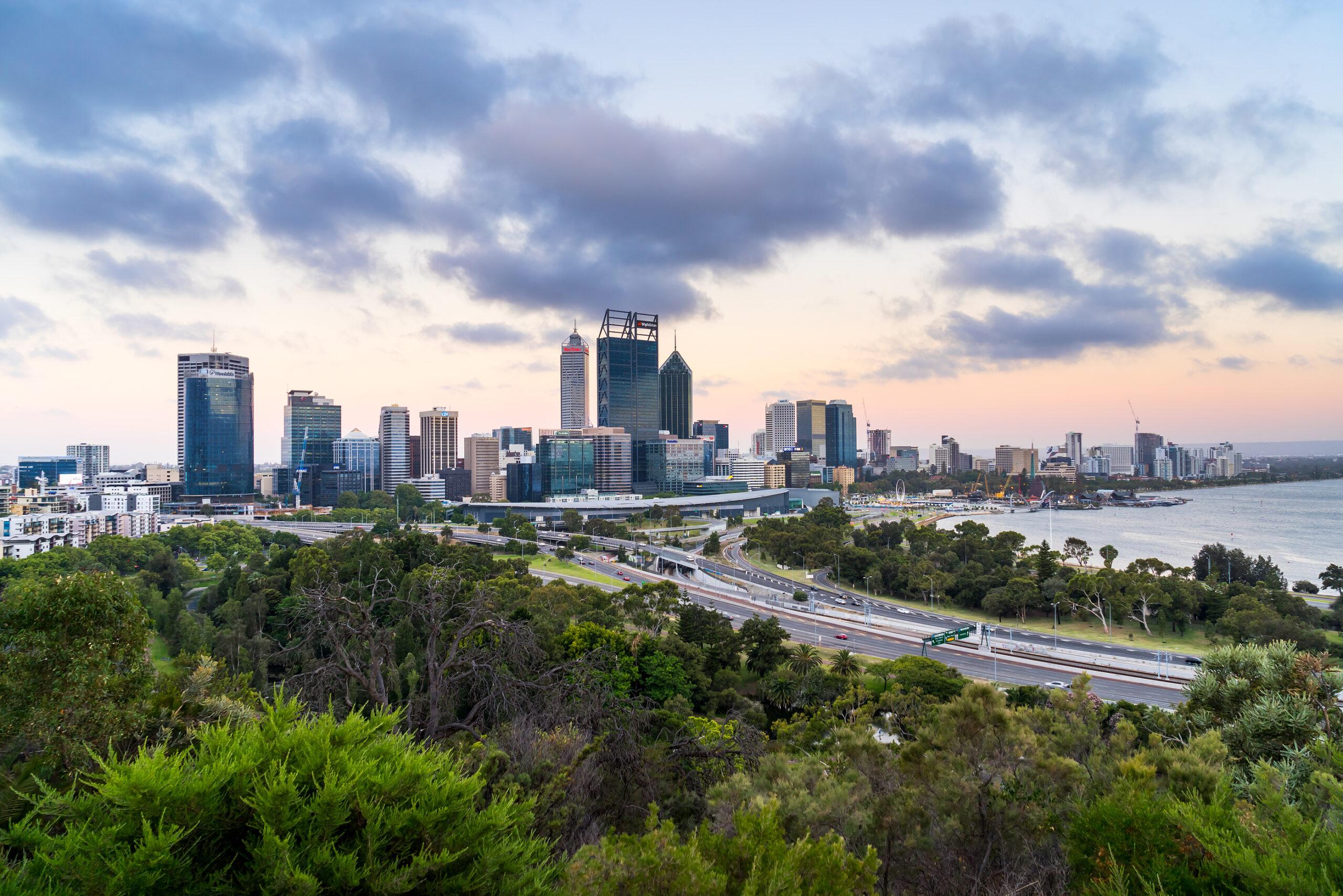 WA Property Market Update - Perth City Skyline
